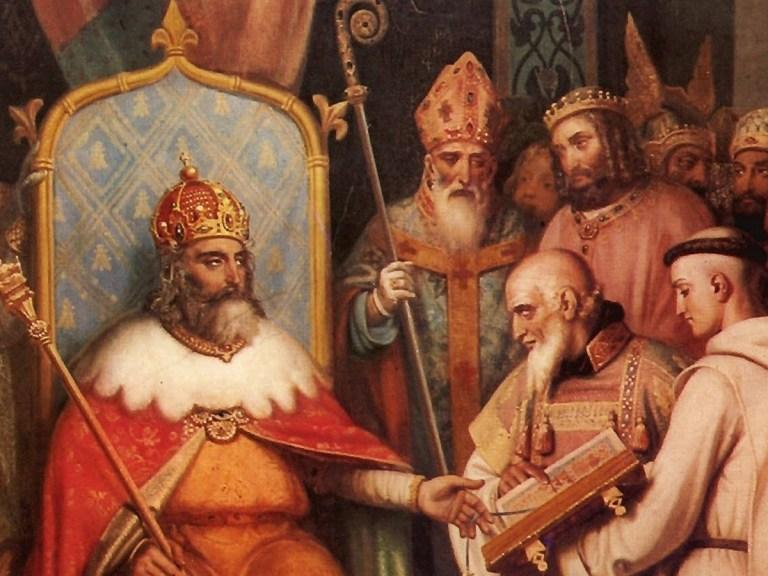 Charlemagne mis a nu