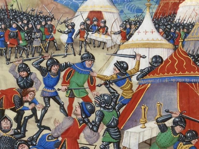 Philippe VI : exclu à l'Écluse et recalé à Calais