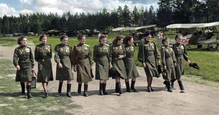 Les Sorcières de la nuit :  ces femmes pilotes soviétiques qui harcelaient les Allemands
