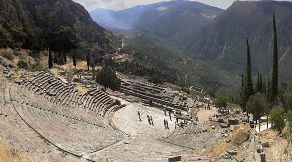 Le sanctuaire de Delphes : une histoire de chèvres folles