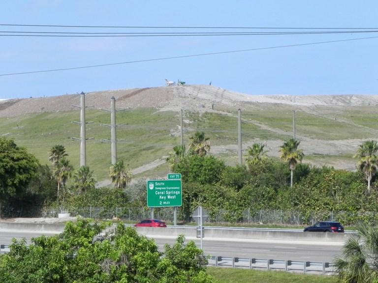 Le mont Trashmore, un amas de déchets !