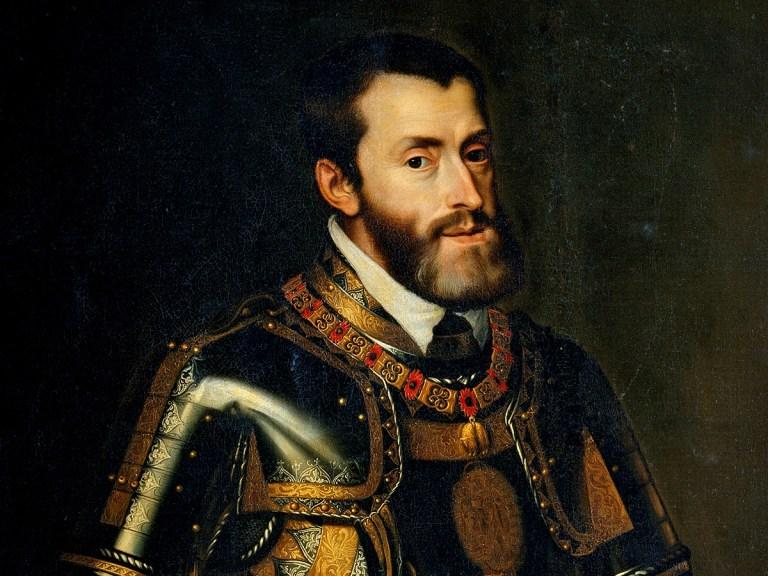 Charles Quint, la consanguinité l'empêchait d'articuler