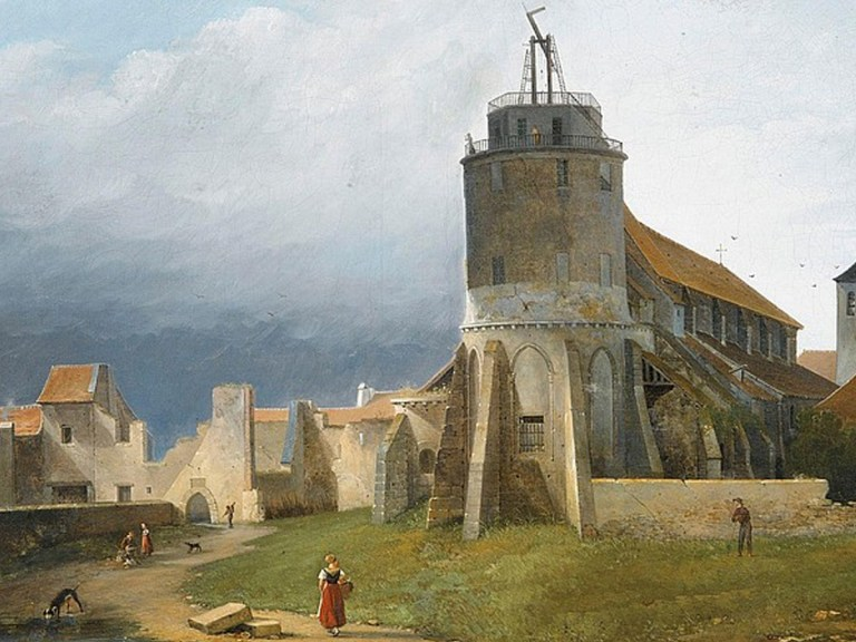 Dès le XVIIIe siècle, on pouvait envoyer des messages à travers la France rapidement