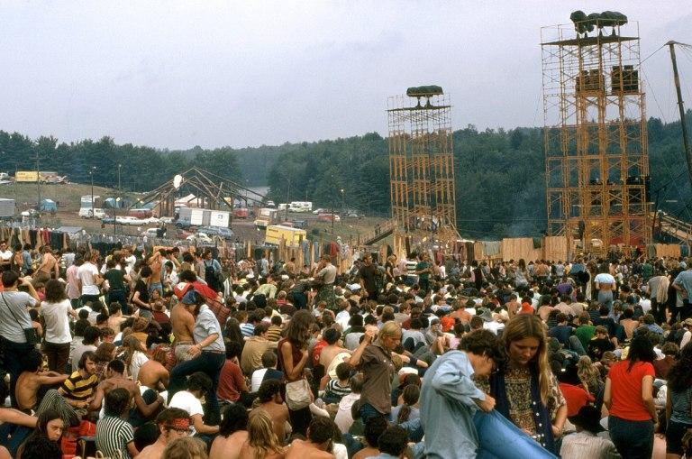 Le festival de Woodstock est en fait le festival de Bethel