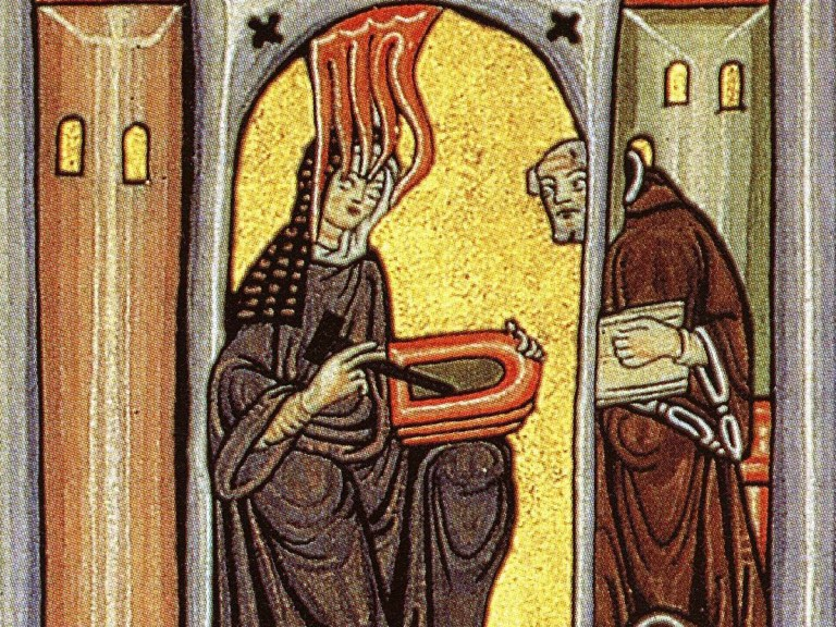 Hildegarde de Bingen (1098-1179), mystique et intellectuelle. En contact avec le Saint Esprit ?