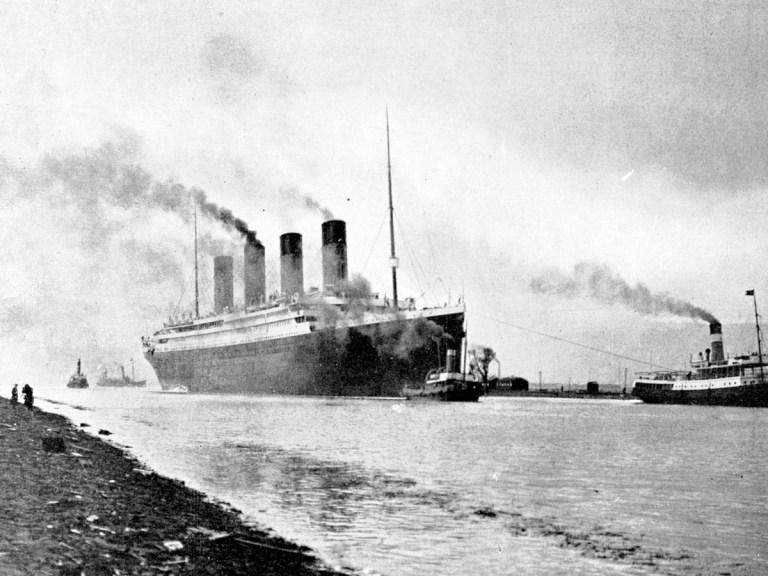 Le Titanic n'avait besoin que de trois cheminées, la quatrième était factice