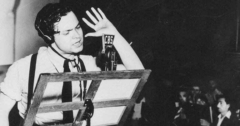 1938 : Le canular radiophonique d'Orson Welles qui affola les Etats-Unis