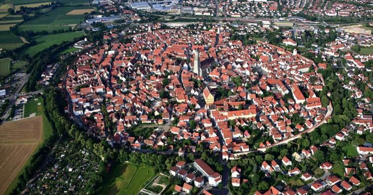 Nördlingen, cette ville allemande construite sur un cratère de météorite