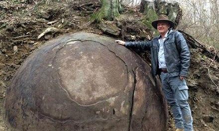 Descubren misteriosa esfera gigantesca en un bosque bosnio