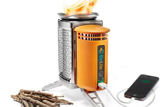 Cocina y carga tu móvil en cualquier lugar
