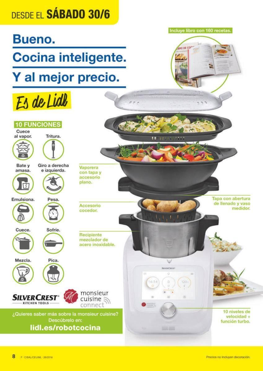 Actualizado Monsieur Cuisine Connect 2018 La Nueva Thermomix