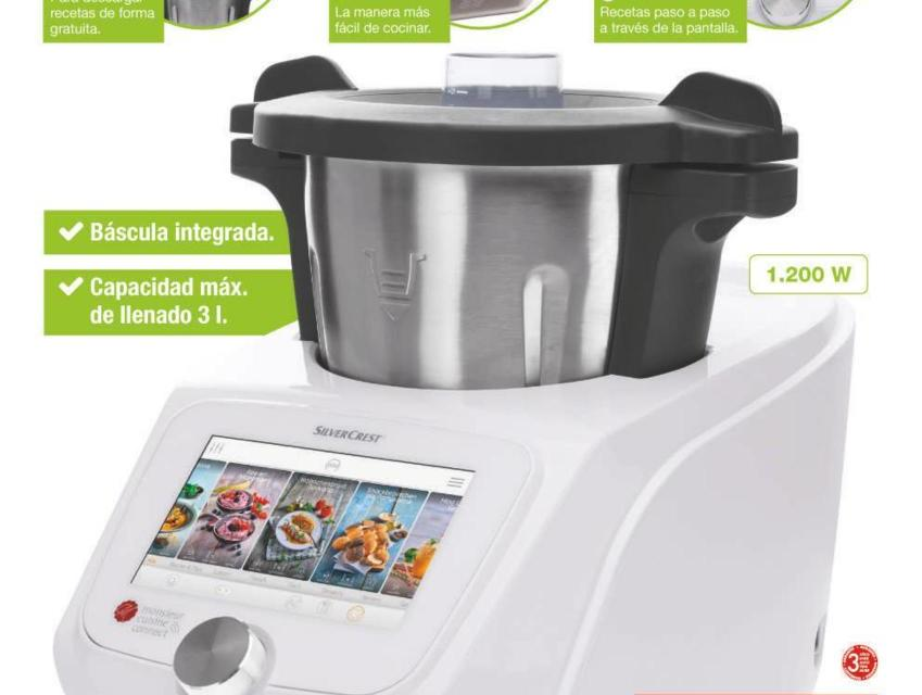 Actualizado monsieur cuisine connect 2018 la nueva for Robot cocina lidl opiniones