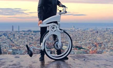 Gy Fly Bike, La primera bicicleta eléctrica que se pliega en 1 segundo