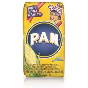 harina de maiz precocida marca PAN