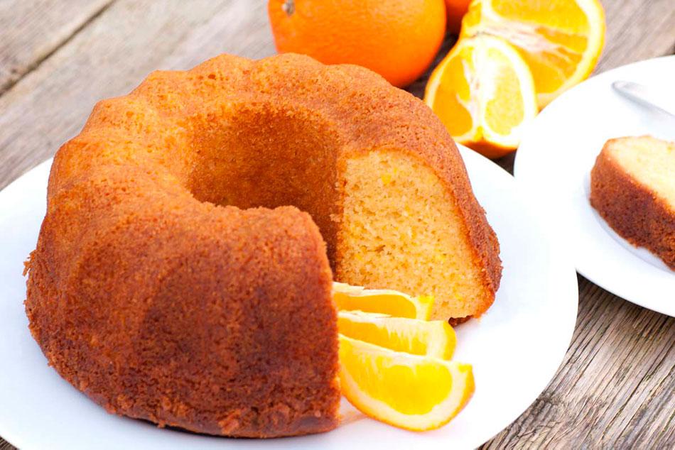 Receta de Bizcocho de Naranja para la Monsieur Cuisine