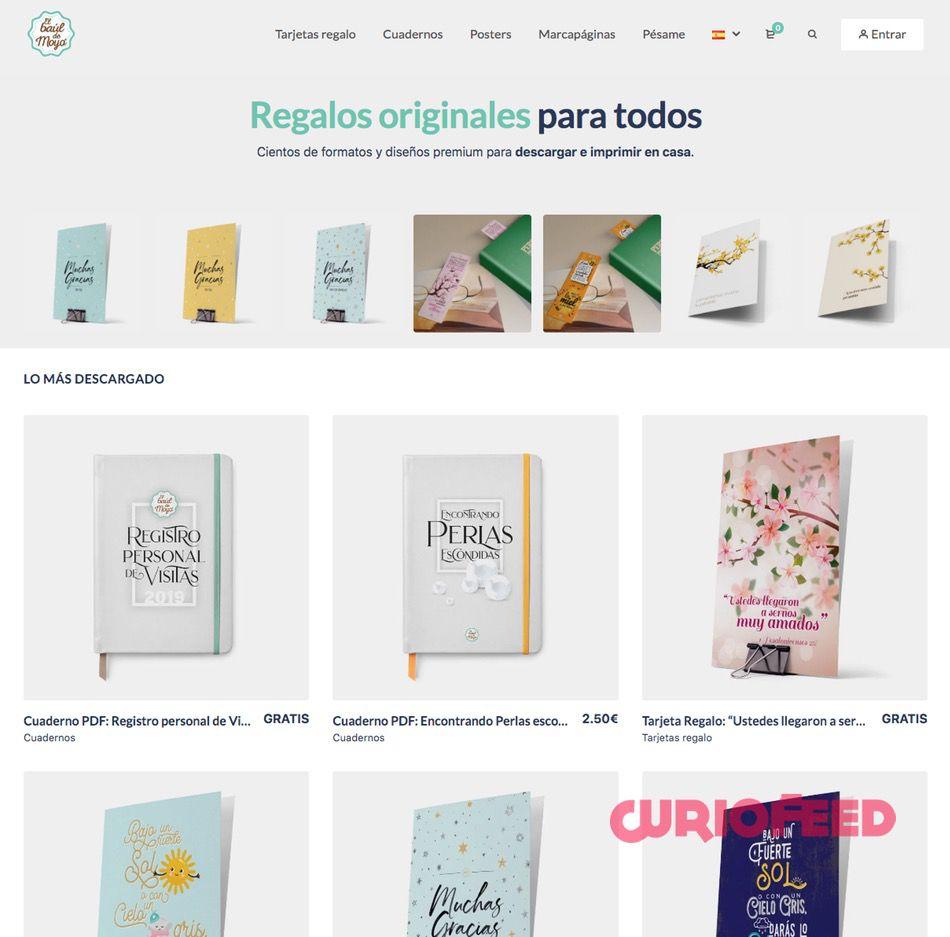 web de regalo gratuitos en pdf El Baúl de Moyo