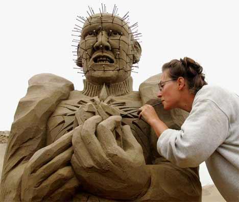 bangert2 Sensacionais Esculturas de Areia