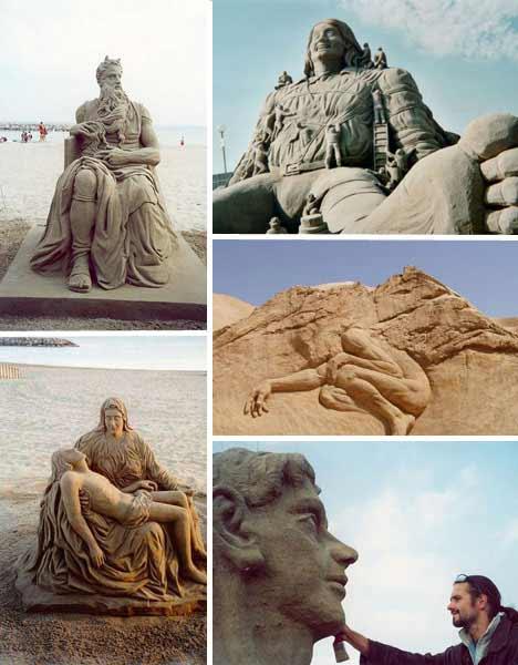 radovan Sensacionais Esculturas de Areia