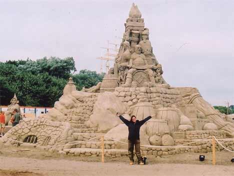 sandsational2 Sensacionais Esculturas de Areia
