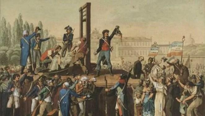A decapitação de Maria Antonieta