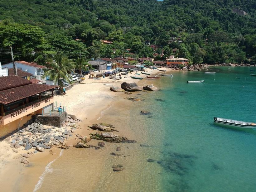 Praia e Vila de Picinguaba