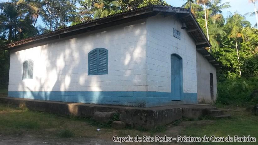 Capela de São Pedro - Casa da Farinha