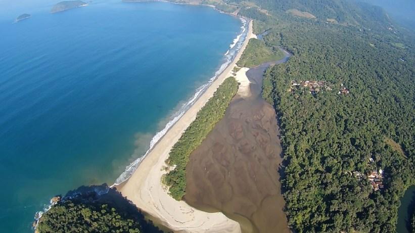 Praia da Puruba - Vista aérea @ubafly