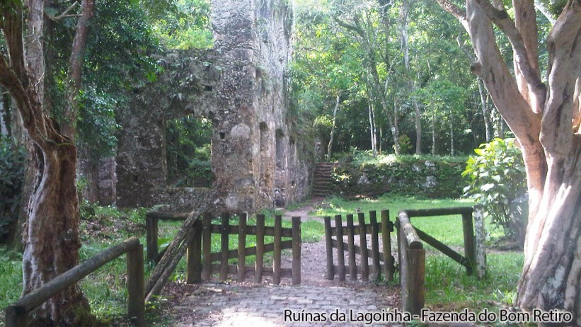 Ruínas da Lagoinha - Entrada