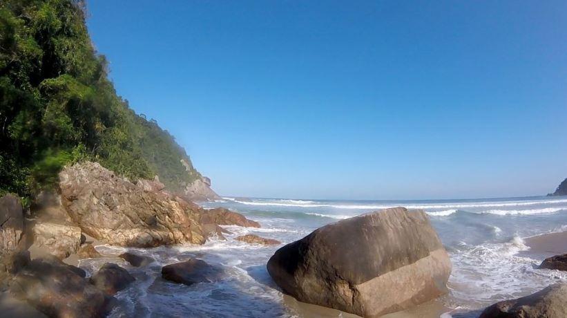 Brava do Camburi - Ubatuba - Litoral Norte SP