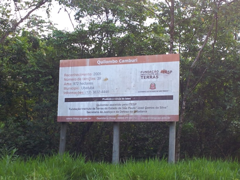Comunjidade Quilombola - Camburi