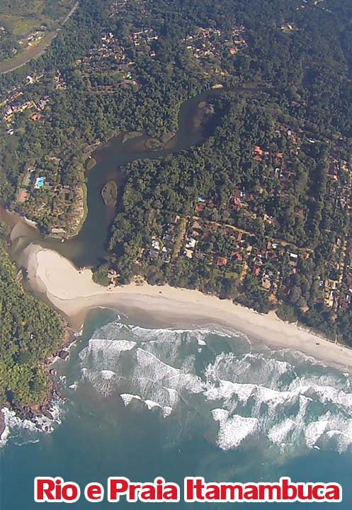 Rio e Praia Itamambuca