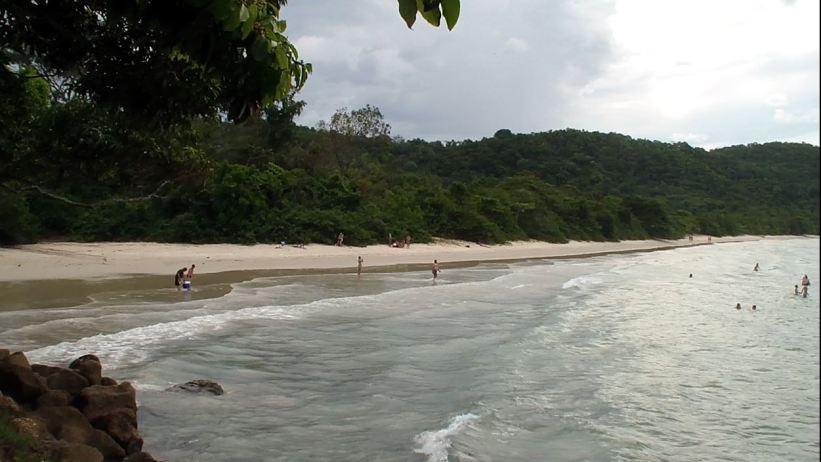 Praia das Palmas - Ilha Anchieta