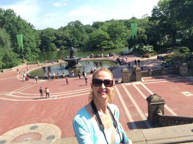 Chi sono? Monica Litta. Central Park , New York