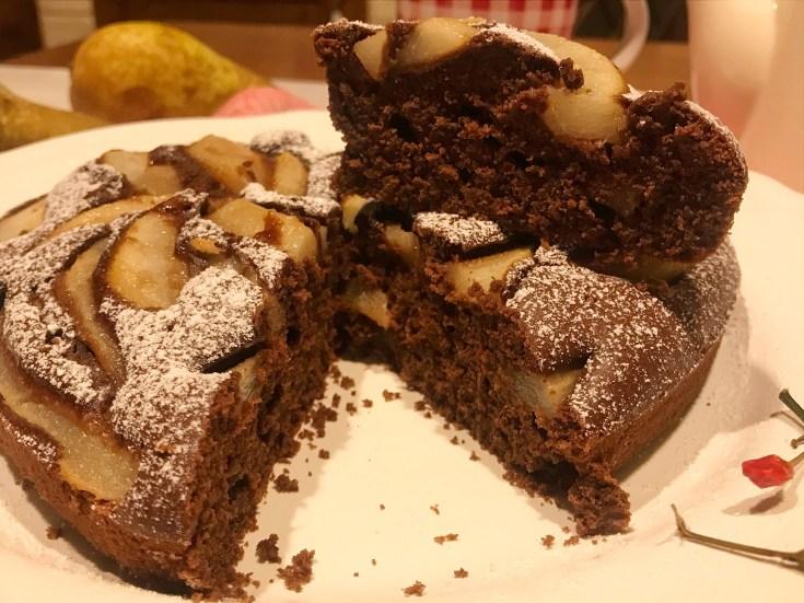 Torta Cioccolato e Pere al Peperoncino.