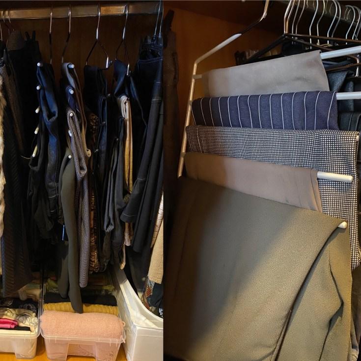 trucchi per riorganizzare gli spazi nell'armadio