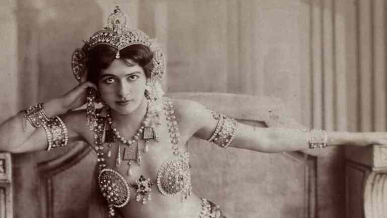 Mata Hari la espía más famosa de la historia