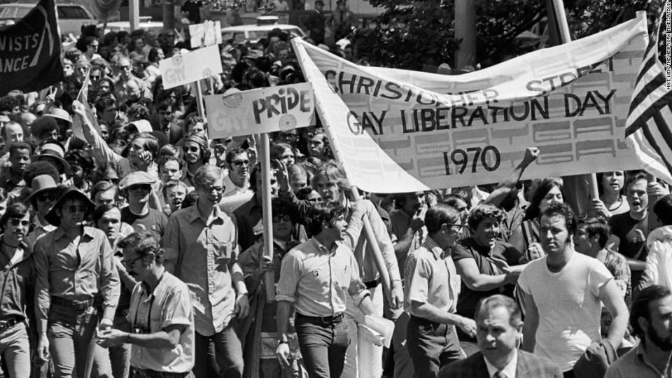 El primer día del Orgullo Gay en Nueva York