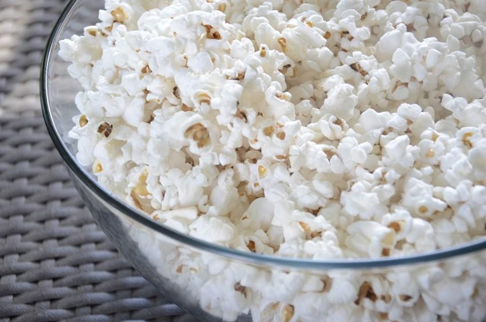 Hay que evitar las palomitas del cine o de microondas