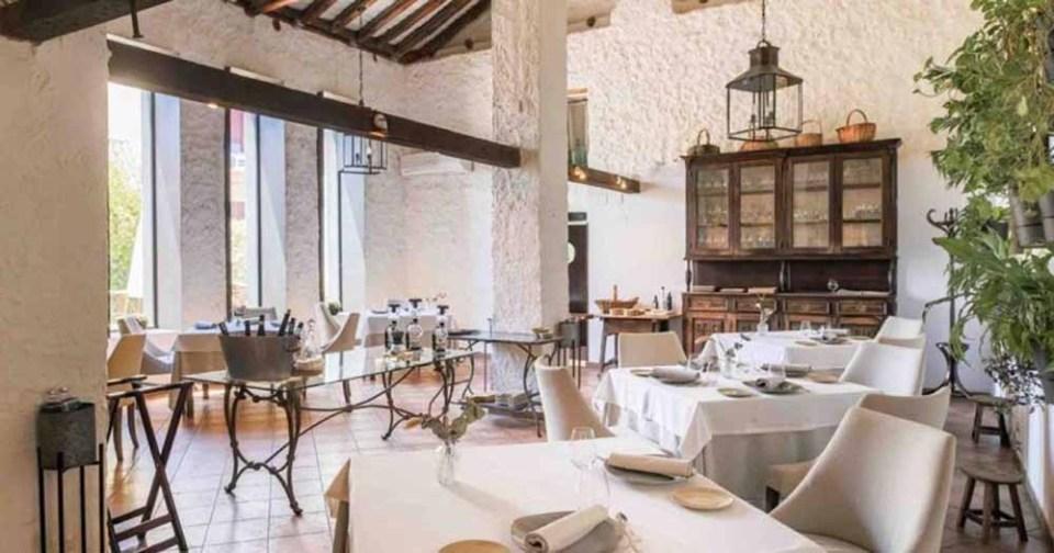 Restaurante moderno Casa Elena