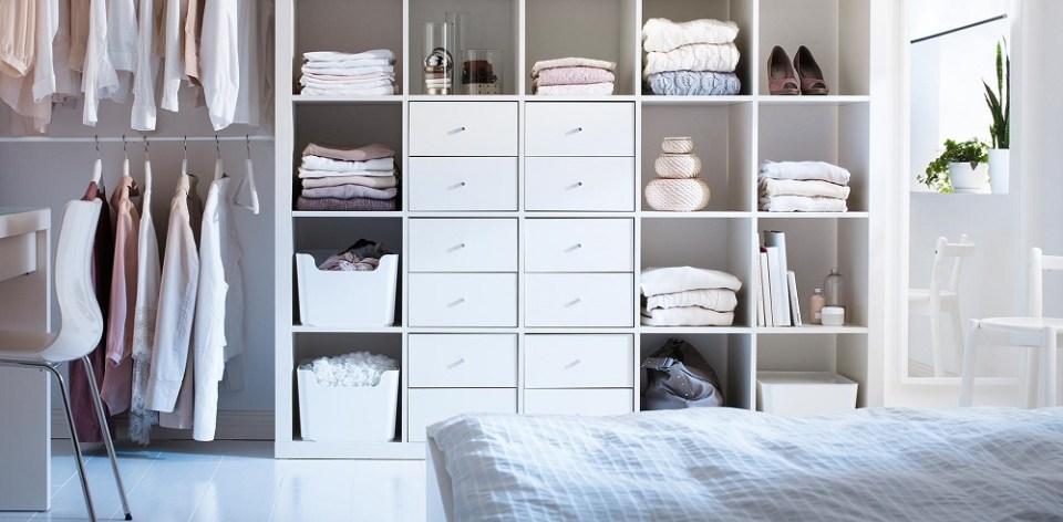 Ideas de Ikea para tener la ropa ordenada
