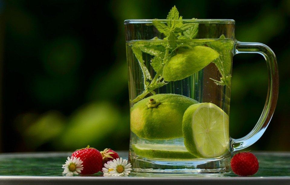 Recomendamos iniciar el día con agua tibia y limón o lima
