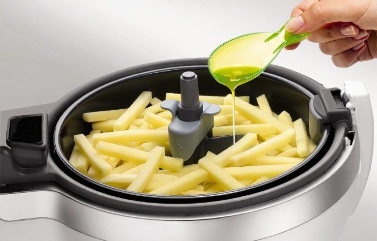 Receta perfecta para hacer patatas fritas en freidora sin aceite