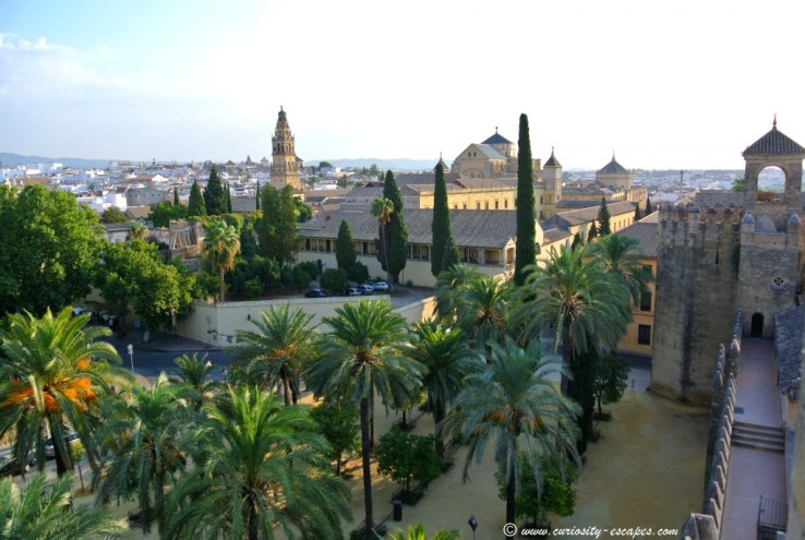 Cordoba from the remparts of the Alcazar