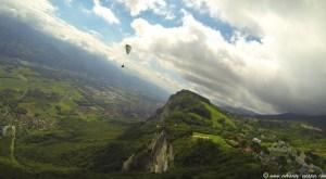 Parc Naturel Régional de Chartreuse vu du ciel