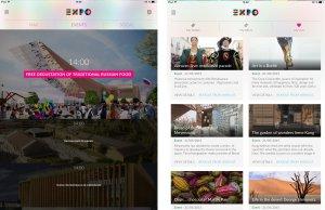 L'application Ipad de l'Expo: préparez votre visite