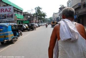 chauffeur de cycle rickshaw à Amritsar