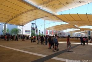 site de l'expo universelle Milan