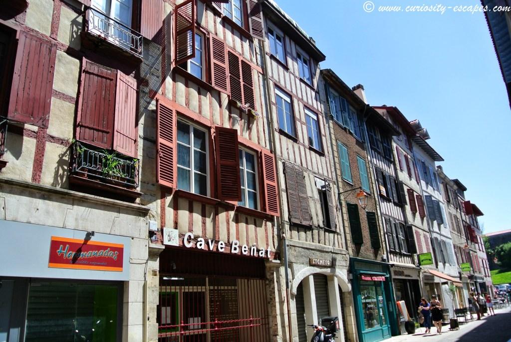 maisons typiques Bayonne
