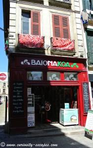 boutique Bayonne