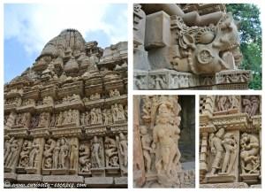 détails du Temple de Parsvanath
